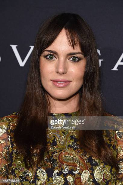 Marta Milans attends BVLGARI And Save The Children STOP THINK GIVE PreOscar Event at Spago on February 17 2015 in Beverly Hills California