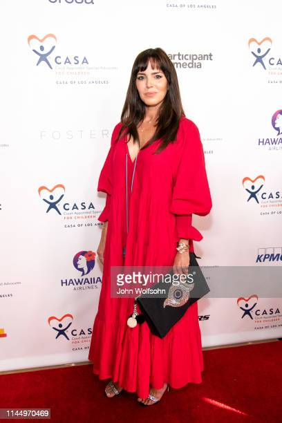 Marta Milans attends CASA Of Los Angeles' 7th Annual Evening To Foster Dreams at The Beverly Hilton Hotel on April 24 2019 in Beverly Hills California
