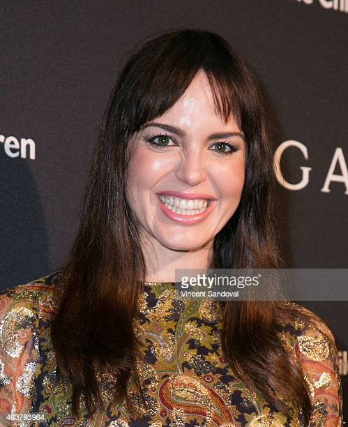 Marta Milans attends the BVLGARI and Save The Children STOP THINK GIVE PreOscar event at Spago on February 17 2015 in Beverly Hills California