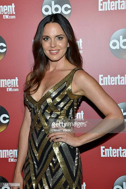 Marta Milans attends the Entertainment Weekly ABCTV Upfronts Party at The General on May 14 2013 in New York City