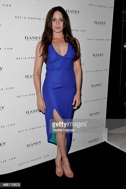 Marta Milans attends the Haney PretACouture launch hosted by NetAPorter at mmhhmmm at The Standard Hollywood on January 30 2014 in West Hollywood...