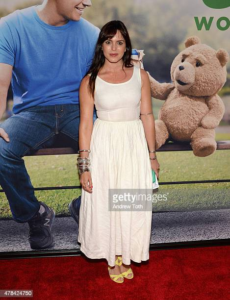 Marta Milans attends the 'Ted 2' New York premiere at Ziegfeld Theater on June 24 2015 in New York City