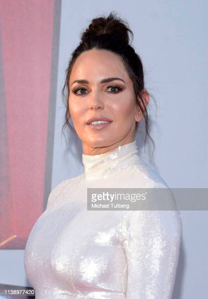 Marta Milans attends the world premiere of Shazam at TCL Chinese Theatre on March 28 2019 in Hollywood California
