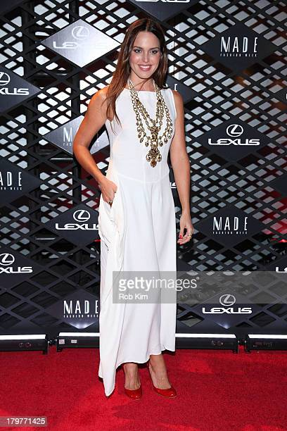 Marta Millans attends the Lexus Design Disrupted Event at SIR Stage 37 on September 5 2013 in New York City