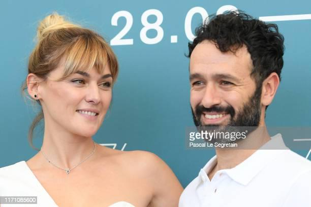 "Marta Nieto and director Rodrigo Sorogoyen attend ""Madre"" photocall during the 76th Venice Film Festival at Sala Grande on August 30, 2019 in Venice,..."