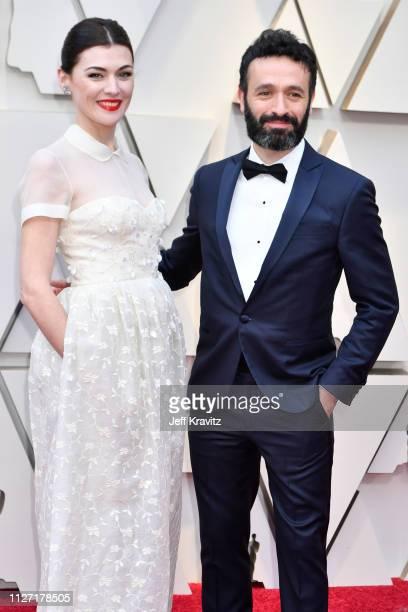 Marta Nieto and director Rodrigo Sorogoyen attends the 91st Annual Academy Awards at Hollywood and Highland on February 24 2019 in Hollywood...