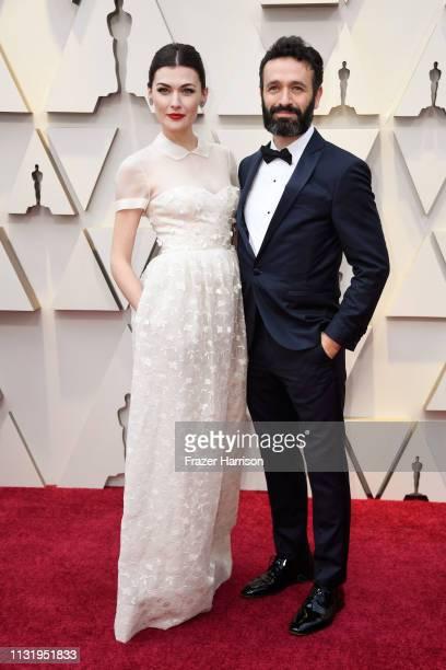 Marta Nieto and Rodrigo Sorogoyen attend the 91st Annual Academy Awards at Hollywood and Highland on February 24, 2019 in Hollywood, California.