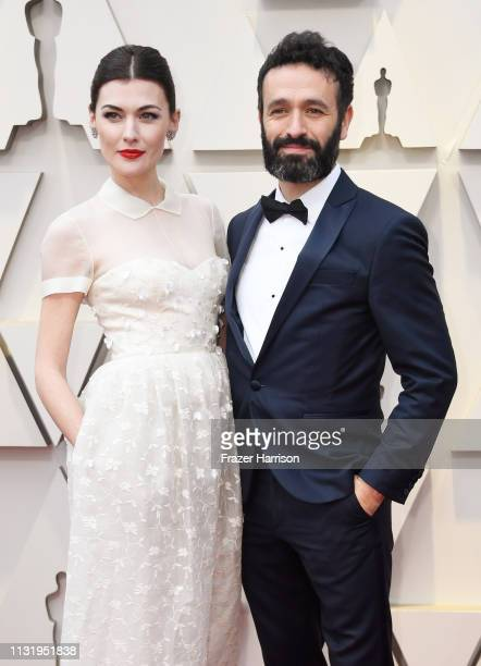 Marta Nieto and Rodrigo Sorogoyen attend the 91st Annual Academy Awards at Hollywood and Highland on February 24 2019 in Hollywood California