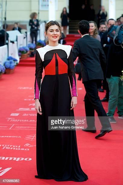 Marta Nieto attends 'Aprendiendo a Conducir' premiere during the 18th Malaga Spanish Film Festival at Cervantes Theater on April 24, 2015 in Malaga,...