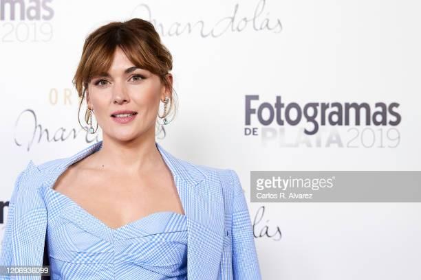 Marta Nieto attends Fotogramas awards candidates dinner 2020 at Santo Mauro Hotel on February 17, 2020 in Madrid, Spain.