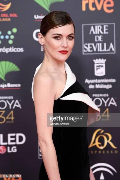 Marta Nieto attends the Goya Cinema Awards 2020 during the 34th edition of the Goya Cinema Awards at Jose Maria Martin Carpena Sports Palace on...