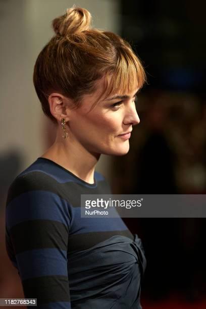 Marta Nieto attends the 'Madre' movie premiere at 'Capitol' cinema in Madrid, Spain on Nov 14, 2019