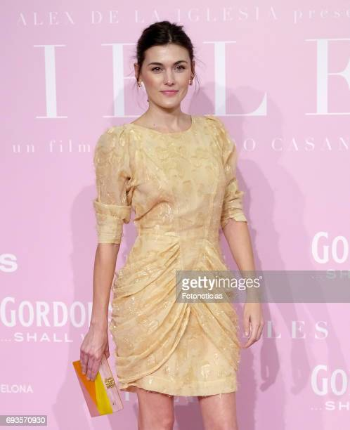 Marta Nieto attends the 'Pieles' premiere pink carpet at Capitol cinema on June 7 2017 in Madrid Spain