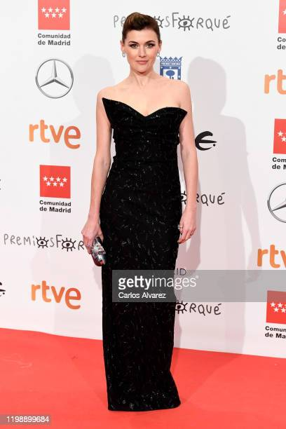 Marta Nieto attends the red carpet during 'Jose Maria Forque Awards' 2020 at Ifema on January 11, 2020 in Madrid, Spain.