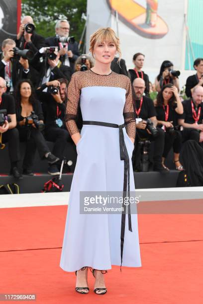 Marta Nieto of Madre walks the red carpet ahead of the closing ceremony of the 76th Venice Film Festival at Sala Grande on September 07 2019 in...