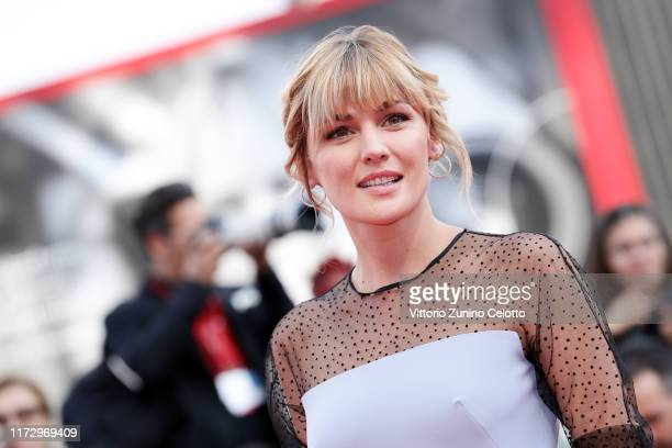 """Marta Nieto of """"Madre"""" walks the red carpet ahead of the closing ceremony of the 76th Venice Film Festival at Sala Grande on September 07, 2019 in..."""