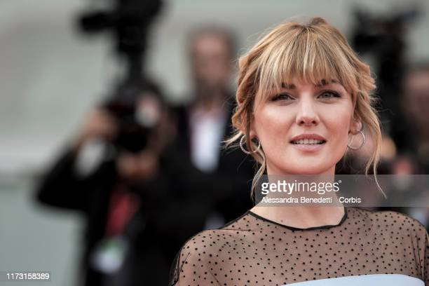 Marta Nieto walks the red carpet ahead of the closing ceremony of the 76th Venice Film Festival at Sala Grande on September 07, 2019 in Venice, Italy.