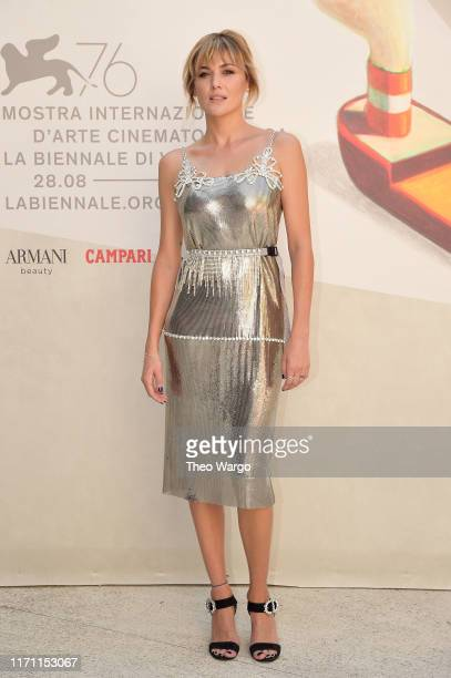 Marta Nieto walks the red carpet ahead of the Madre screening during during the 76th Venice Film Festival at Sala Darsena on August 30 2019 in Venice...