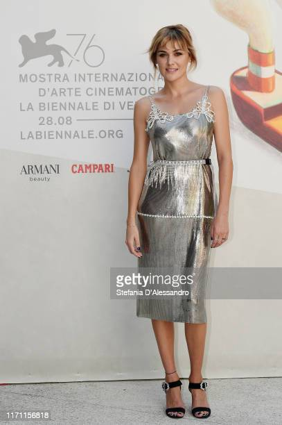 """Marta Nieto walks the red carpet ahead of the """"Madre"""" screening during during the 76th Venice Film Festival at Sala Darsena on August 30, 2019 in..."""