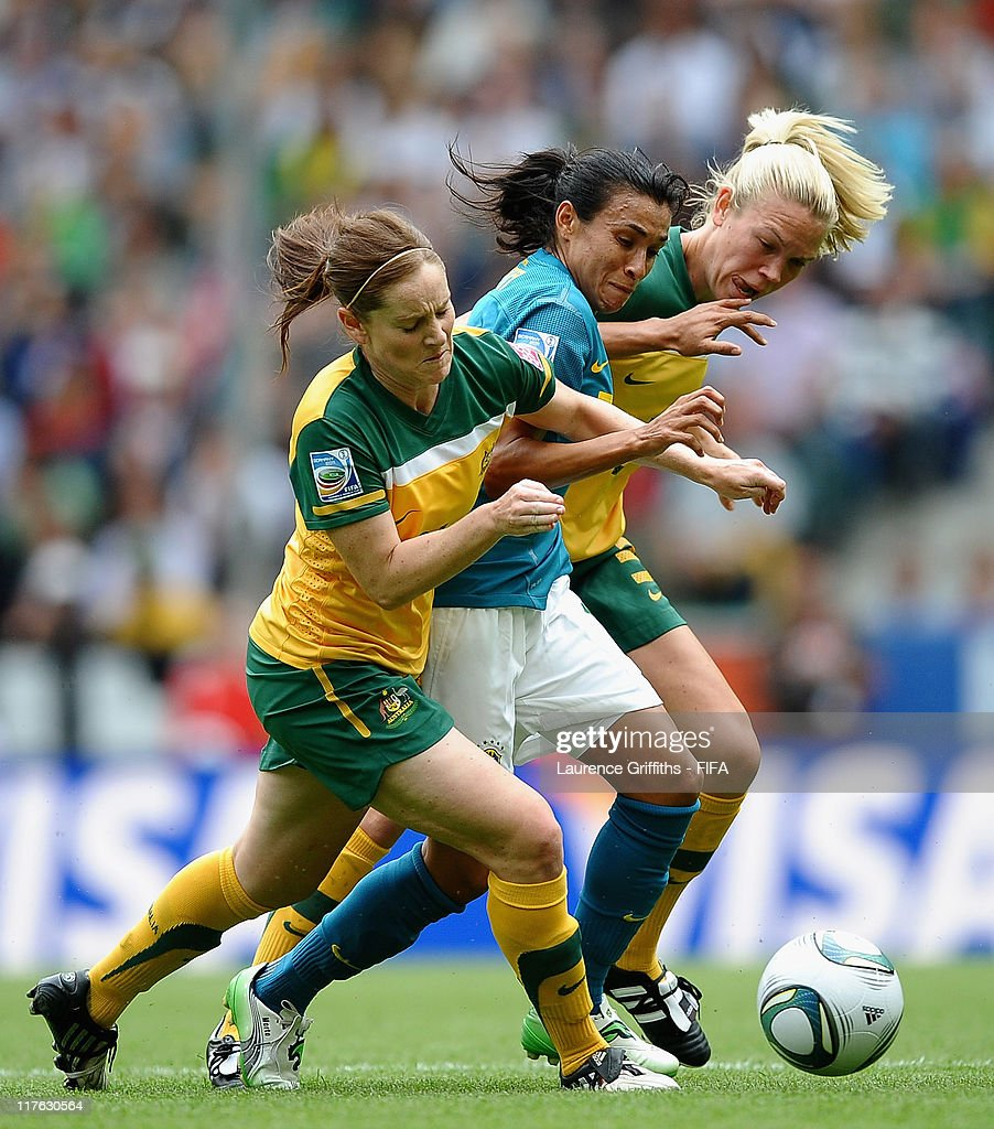 Brazil v Australia: Group D - FIFA Women's World Cup 2011 : Fotografía de noticias