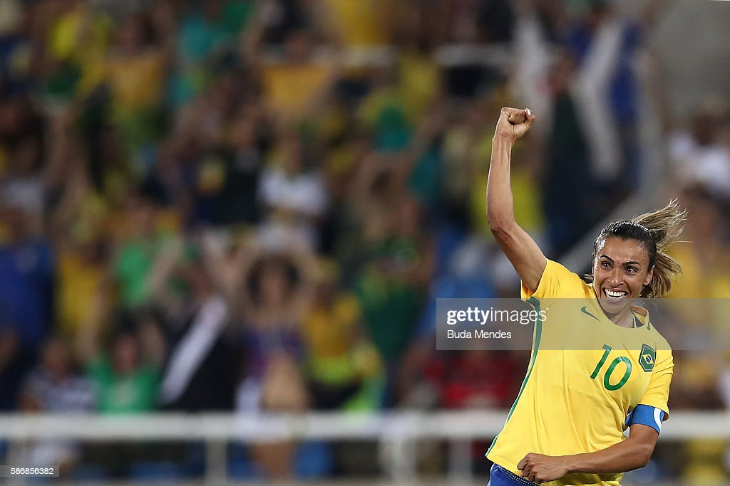 Brazil v Sweden: Women's Football - Olympics: Day 1