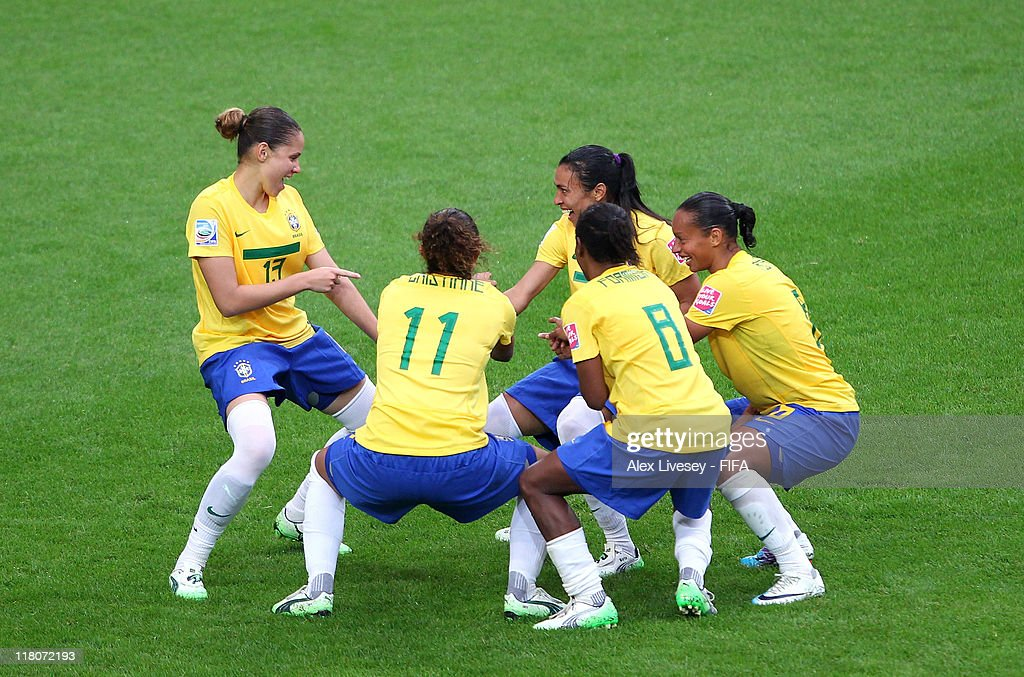 Brazil v Norway: Group D - FIFA Women's World Cup 2011 : News Photo
