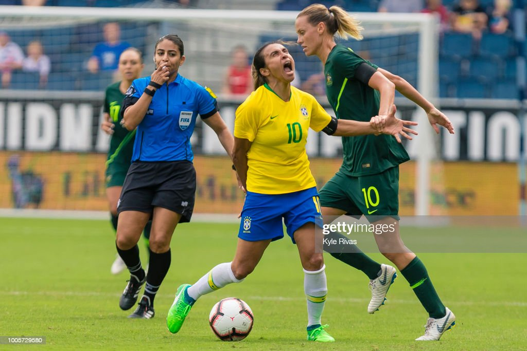 2018 Tournament Of Nations - Australia v Brazil