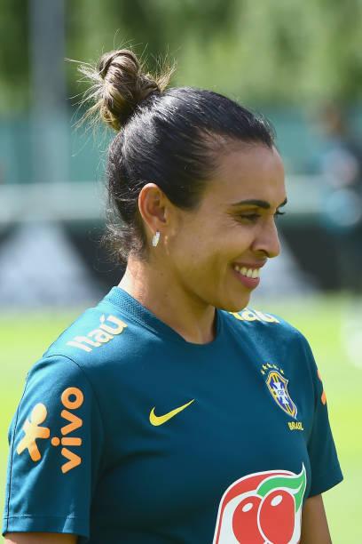 FRA: Brazil Women Training Session: FIFA Women's World Cup France 2019