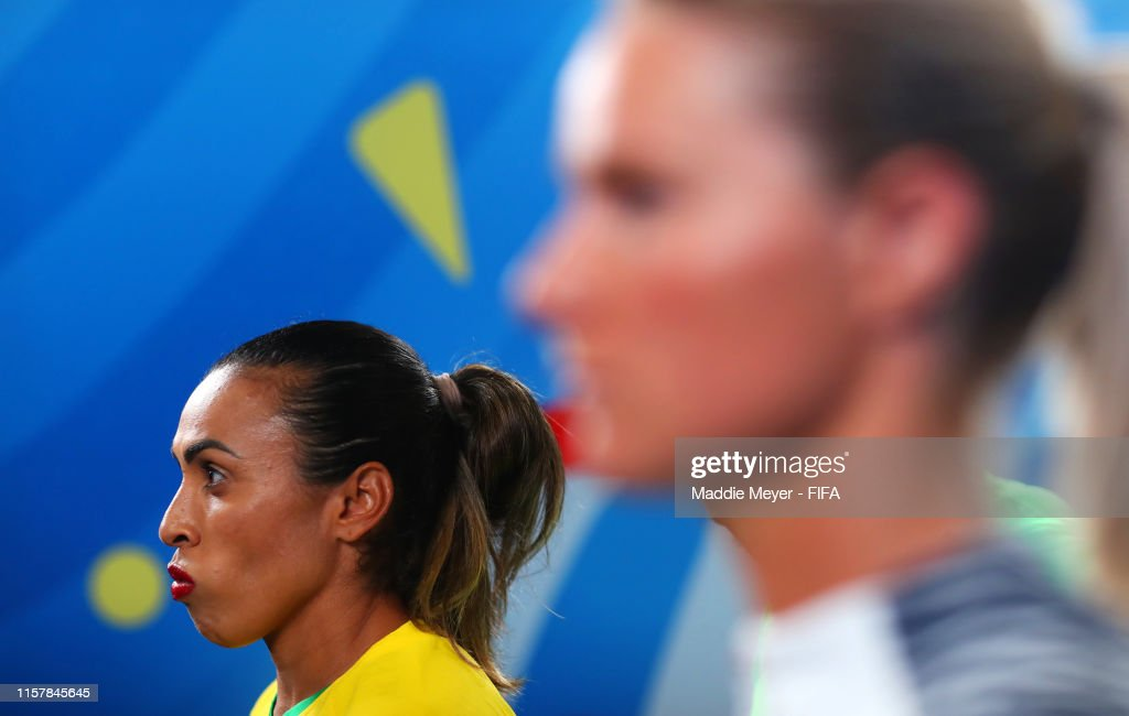 France v Brazil: Round Of 16  - 2019 FIFA Women's World Cup France : News Photo