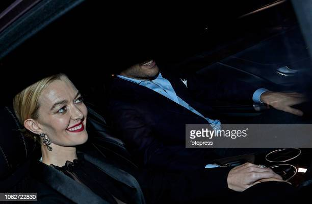 Marta Ortega and Carlos Torreta attend a party night before their wedding at Real Club Nautico on November 16 2018 in A Coruna Spain