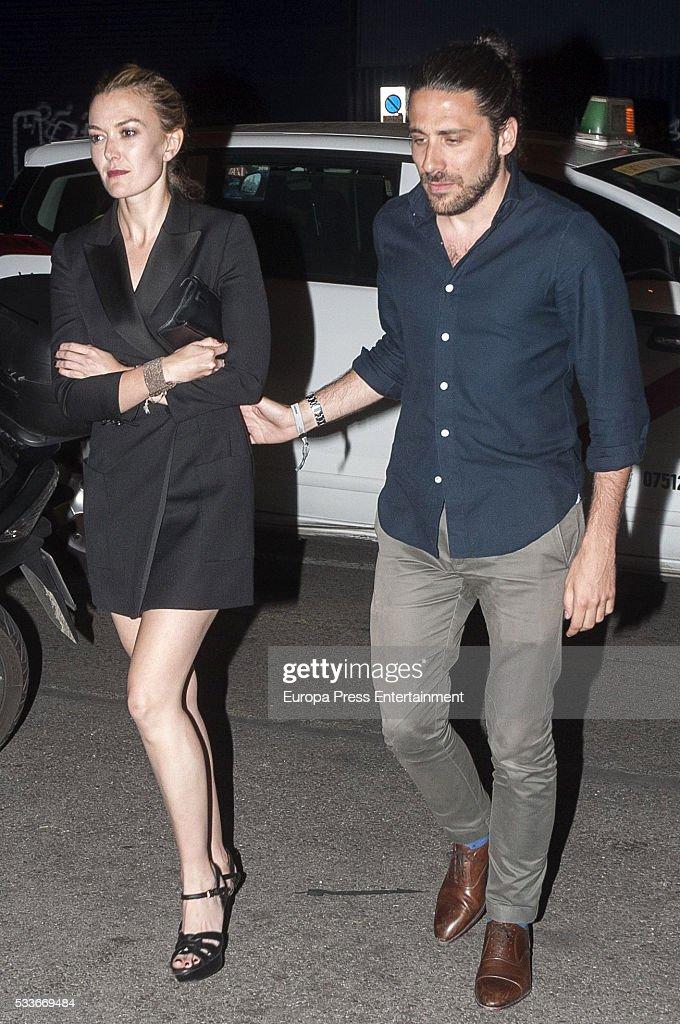 Marta Ortega and Carlos Torretta Sighting In Madrid - May 20, 2016