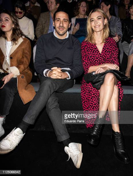 Marta Ortega and Carlos Torretta attend the Roberto Torretta fashion show during the Mercedes Benz Fashion Week Autumn/Winter 2019-2020 at Ifema on...