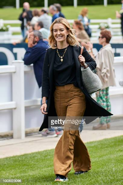 Marta Ortega attends during CSI Casas Novas Horse Jumping Competition on July 21 2018 in A Coruna Spain