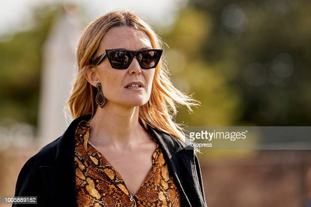 Marta Ortega attends during CSI Casas Novas Horse Jumping Competition on July 20 2018 in A Coruna Spain