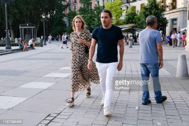 Marta Ortega, Carlos Torretta attends Concert Jamie Cullum photocall during Universal Music Festival 2019 in Teatro Real Madrid on, 22 July 2019....