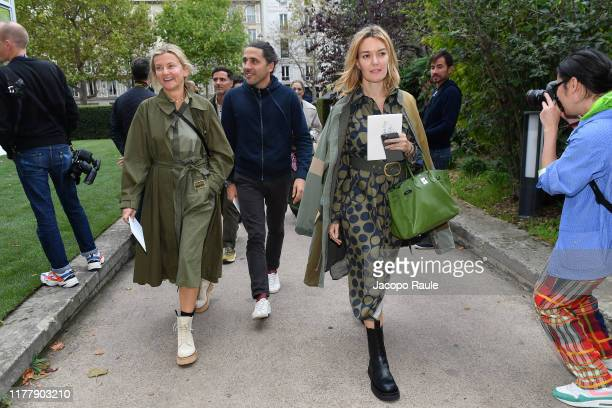 Marta Ortega Perez and Carlos Torretta attend the Valentino Womenswear Spring/Summer 2020 show as part of Paris Fashion Week on September 29 2019 in...