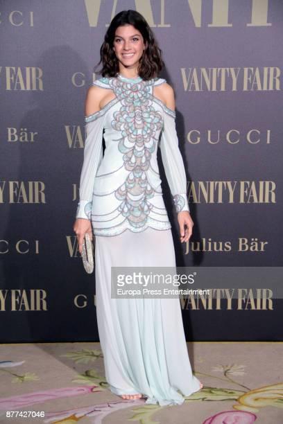 Marta Ortiz attends the gala 'Vanity Fair Personality of the Year' to Garbine Muguruza at Ritz Hotel on November 21 2017 in Madrid Spain