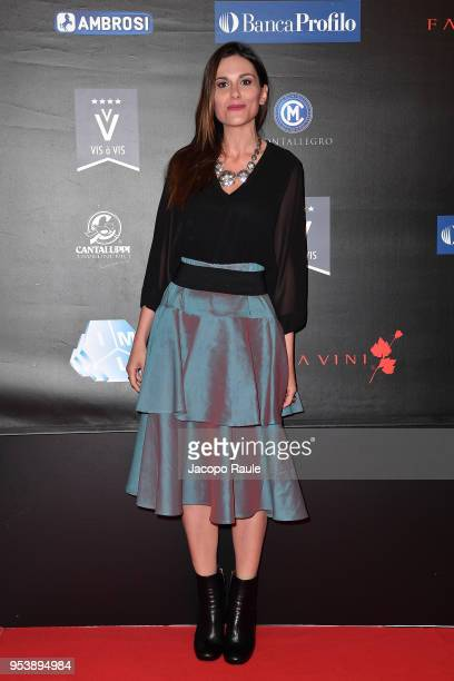 Marta Perego attends the Riviera International Film Festival on May 2 2018 in Sestri Levante Italy