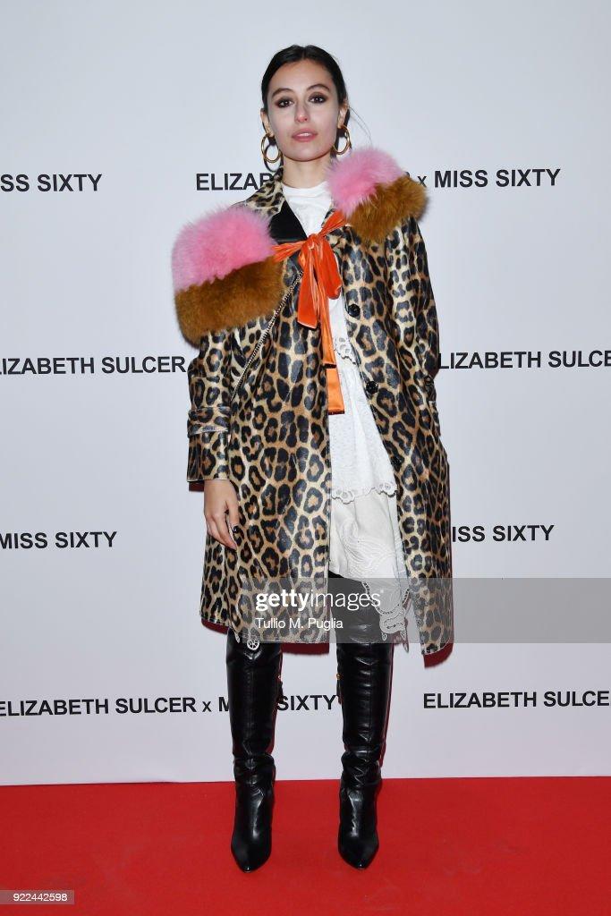 ELIZABETH SULCER X MISS SIXTY : Nachrichtenfoto