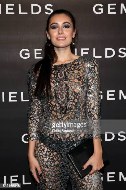 Marta Pozzan attends Gemfields celebration of Ruth Negga and Karla Welch at Chateau Marmont on February 24 2017 in Los Angeles California