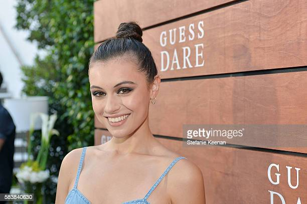 Marta Pozzan attends GUESS Dare Double Dare Fragrance Launch at Ysabel on July 27 2016 in West Hollywood California