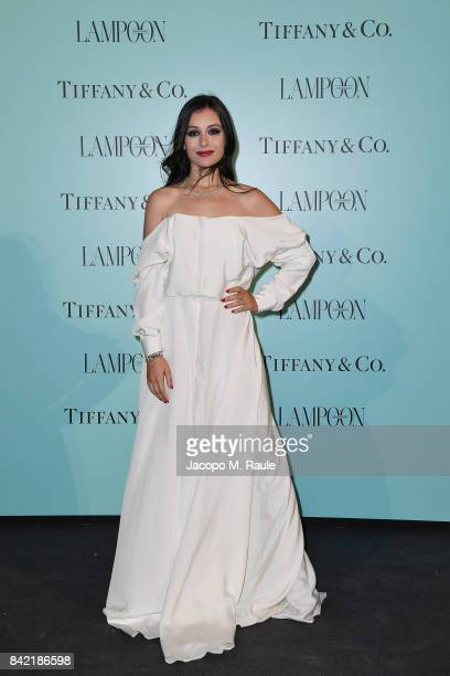 Marta Pozzan attends Keep On Shining Party Tiffany and Co For Lampoon Magazine at Conservatorio Di Venezia on September 2 2017 in Venice Italy