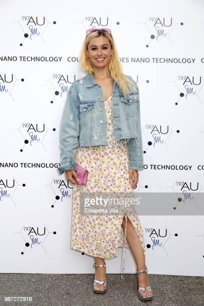 Marta Pozzan attends Sfilata AU197SM AltaRoma on June 29 2018 in Rome Italy
