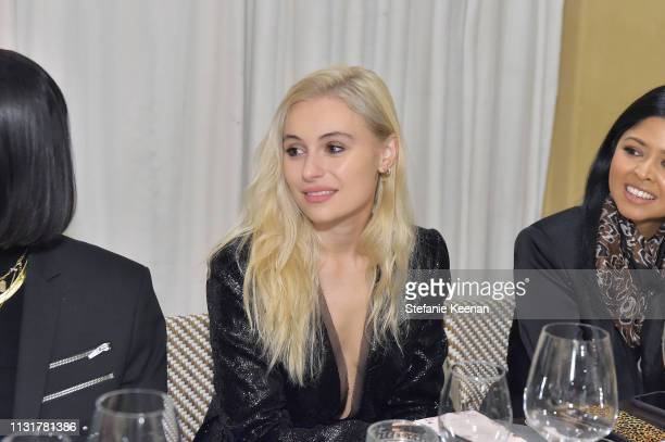Marta Pozzan attends Spring 2019 Box of Style by Rachel Zoe Dinner at Montage Beverly Hills on March 20 2019 in Beverly Hills California