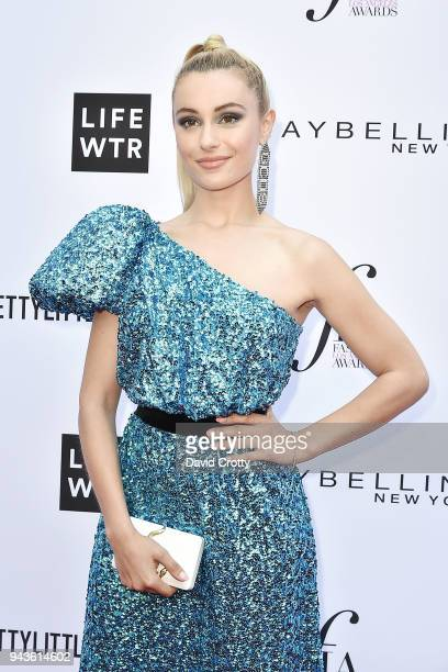 Marta Pozzan attends The Daily Front Row's 4th Annual Fashion Los Angeles Awards - Arrivals at The Beverly Hills Hotel on April 8, 2018 in Beverly...