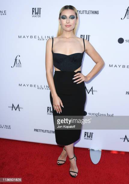 Marta Pozzan attends The Daily Front Row's 5th Annual Fashion Los Angeles Awards at Beverly Hills Hotel on March 17 2019 in Beverly Hills California