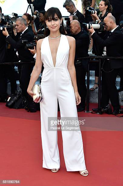 Marta Pozzan attends the From The Land Of The Moon premiere during the 69th annual Cannes Film Festival at the Palais des Festivals on May 15 2016 in...