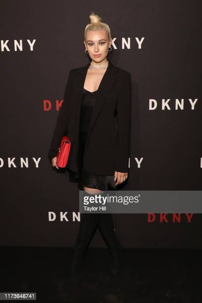 Marta Pozzan attends the party celebrating the 30th anniversary of DKNY at St Ann's Warehouse on September 09 2019 in New York City