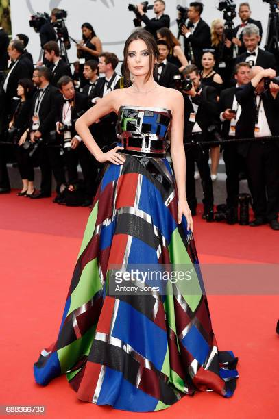 Marta Pozzan attends the Twin Peaks screening during the 70th annual Cannes Film Festival at Palais des Festivals on May 25 2017 in Cannes France