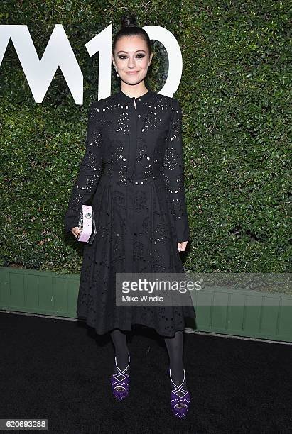 Marta Pozzan attends the Who What Wear 10th Anniversary #WWW10 Experience on November 2 2016 in Los Angeles California